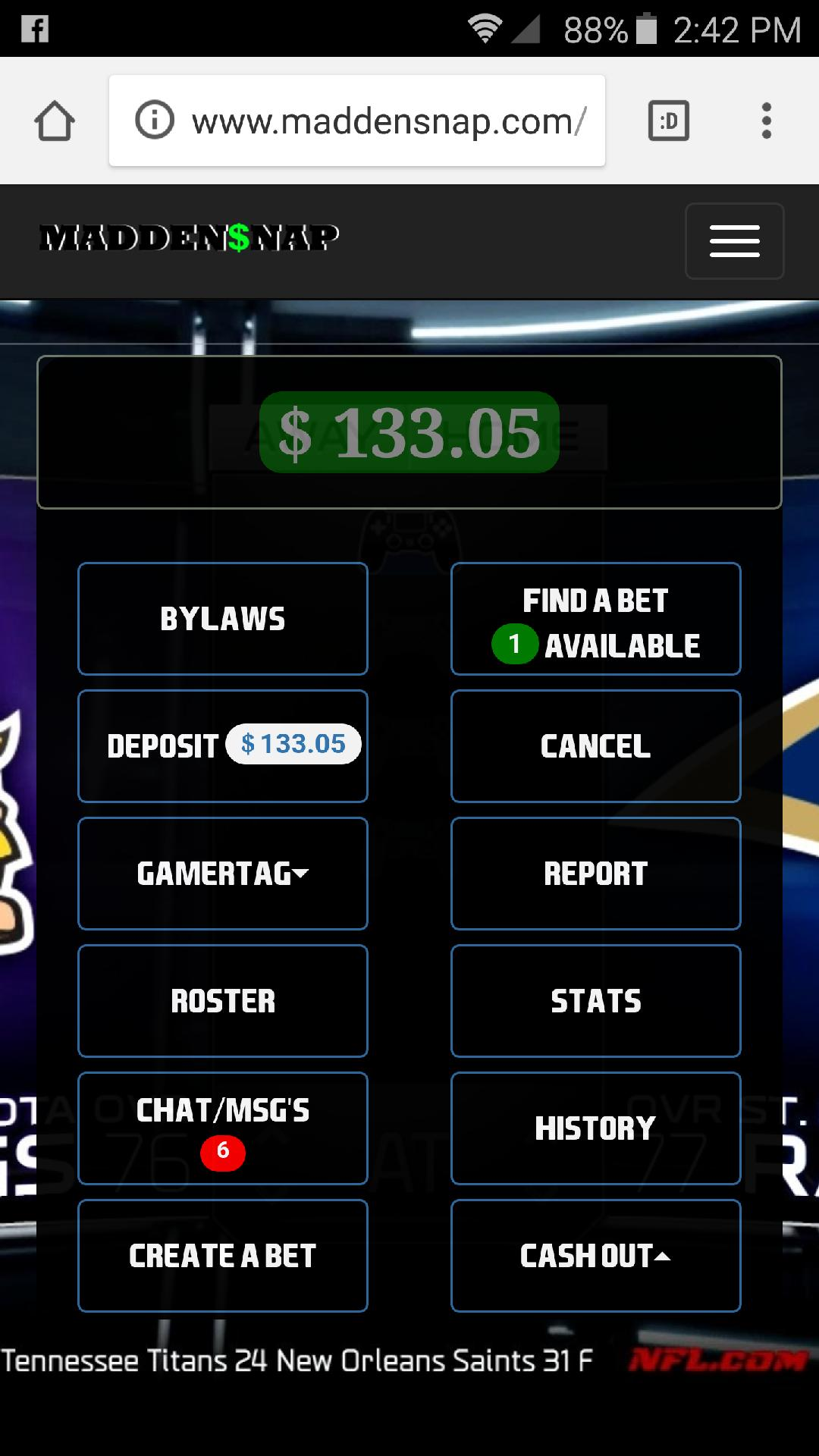 Madden betting best crypto betting sites